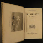 1855 Vaillant Africa Voyages Hottentot Ethnology Zoology Giraffes FINE BINDING